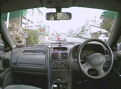 4Kam DNR in-car camera with WDR