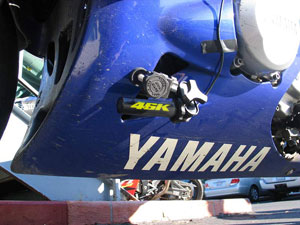 Motorcycle camera clamp 2