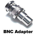BNC to RCA Adapter (onboard camera connector).
