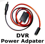 Bike Camera DVR 12v Power Supply - Bike / Car Hookup