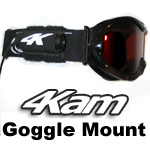 Helmet Camera Mount, Head Cam Goggle Mount