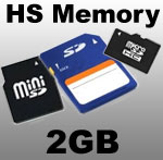 Mini DVR HS Memory Card - 2GB