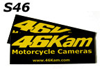 Bike Camera, Motorcycle Cam Vinyl Stickers