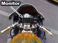 Wireless Bike Camera Monitor - rear view cam