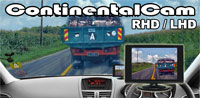 ContinentalCam™ - RHD or LHD Car Camera Driving Aid