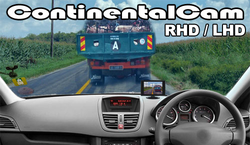 ContinentalCamT - RHD or LHD Car Camera Driving Aid - For