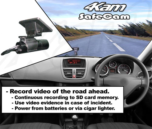 Safecam Driving Safety Camera Vehicle Video Evidence Recorder