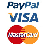 Buy with Paypal, Visa and Mastercard