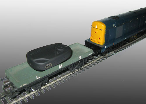 Wireless Micro Camera on OO Gauge Model Railway
