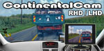 ContinentalCam™ - RHD or LHD Car Camera Driving Aid - For when driving in Europe or when driving a LHD car import.