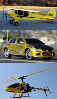 Wireless Micro Camera on RC Car, RC Plane, RC Helicopter