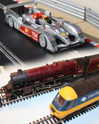 Wireless Micro Camera on Scalextric and Model Railway