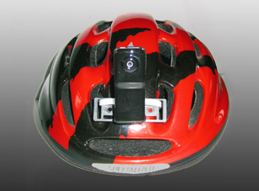 Bike Helmet Camera Dual Mini Cycle Video Cameras