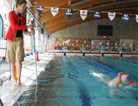 Swimcoach Pro Swimming Training Underwater Video Camera