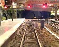 Wireless Cab ride Video camera model train