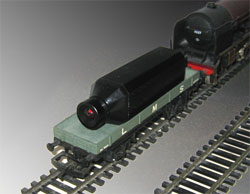 Model railway video camera wireless