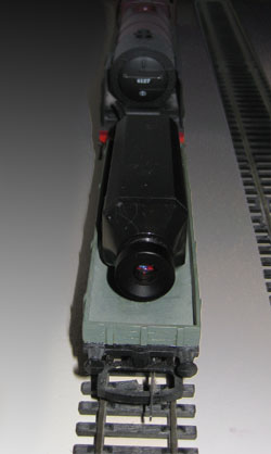 Wireless train camera